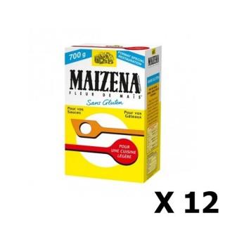Lot 12 x Maïzena fleur de maïs - Boîte 700g
