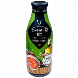 Gaspacho tomates BIO - Villaolivo - bouteille 1l