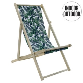 Chilienne en bois design jungle Lola - Vert