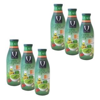 Lot 6x Gaspacho vert - Villaolivo - bouteille 1l