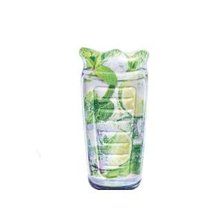 Matelas gonflable Cocktail - L. 178 cm - Vert