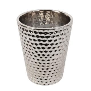 Bougie parfumée en pot Chic Candle - Argent