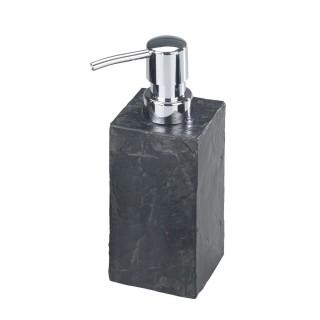 Distributeur de savon effet ardoise Slate - Gris anthracite