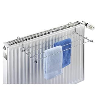 Sèche linge pour radiateur Oli - 2 m d'étendage - Gris