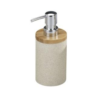 Distributeur de savon design nature Vico - Beige