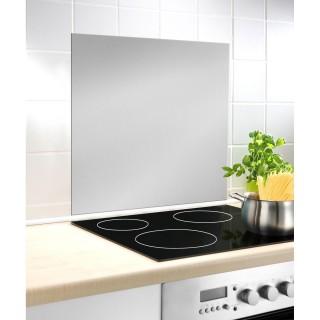 Fond hotte design Alfie - L. 60 x l. 70 cm - Argent