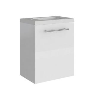 Lavabo lave-mains pack design Belem - L. 40 x H. 51 cm - Blanc