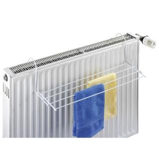 Sèche linge pour radiateur Oli - L. 59 x l. 16 cm - Blanc