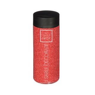 Sable décoratif - 750 g - Rouge
