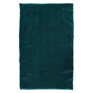 Tapis de salle de bain rectangulaire Colorama - L. 80 x l. 50 cm - Vert foncé