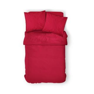 Housse de couette Pomme d'Amour - 100% coton 57 fils - 240 x 260 cm - Rouge