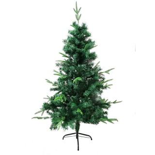 Sapin de Noël branches épaisses Tallinn - H. 150 cm - Vert
