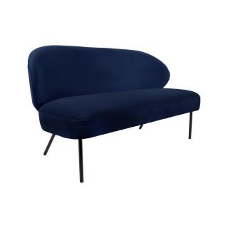Canapé design Puffed - 2 Places - Bleu foncé