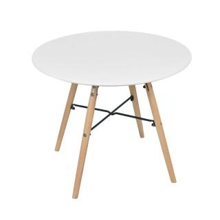 Bureau table design scandinave enfant Judy - Blanc