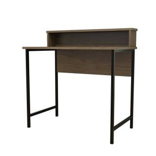 Bureau Uso 90 cm - Marron noix, Black
