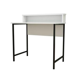 Bureau Uso 90 cm - Blanc, Black