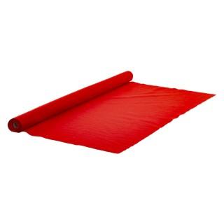 Tapis pour sapin de Noël effet feutrine Colorama - L. 200 x l. 100 cm - Rouge