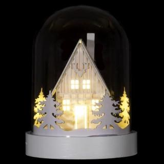 Décoration lumineuse de Noël design dome Dahlia - Maison