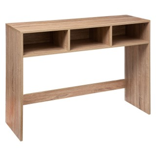 Console d'entrée design Mix'n modul - L. 102 x H. 75 cm - Couleur bois naturel