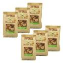 Lot 6x Billes de granola noisettes - Newyorkers - paquet 125g