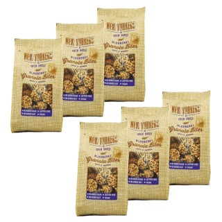 Lot 6x Billes de granola myrtilles - Newyorkers - paquet 125g