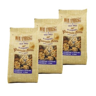 Lot 3x Billes de granola myrtilles - Newyorkers - paquet 125g