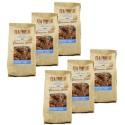 Lot 6x Billes de granola chocolat coco - Newyorkers - paquet 125g