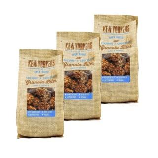 Lot 3x Billes de granola chocolat coco - Newyorkers - paquet 125g