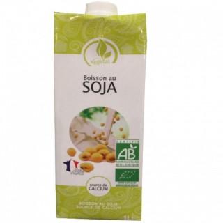 Boisson végétale BIO soja - brique 1l