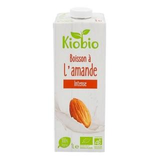 Boisson végétale amande intense BIO - Kiobio - brique 1l