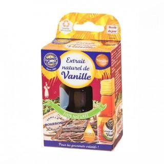 Extrait naturel de vanille - Sainte Lucie- flacon 20ml