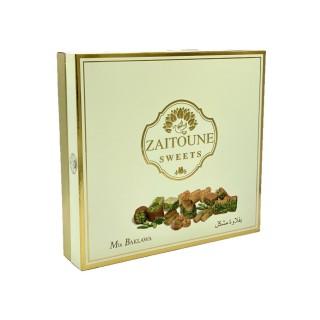 Assortiment baklawa - Zaitoune - boîte 400g