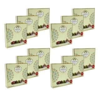 Lot 12x Assortiment de loukoum (raha) aux pistaches - Zaitoune - boîte 250g