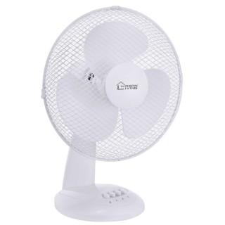 Ventilateur de table - Diam. 30 cm. -Blanc