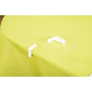 4 Pinces pour nappe - Blanc