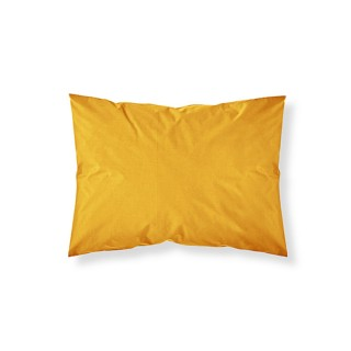 Lot 2x Taie d'oreiller - 100% coton 57 fils - 50 x 70 cm - Jaune safran