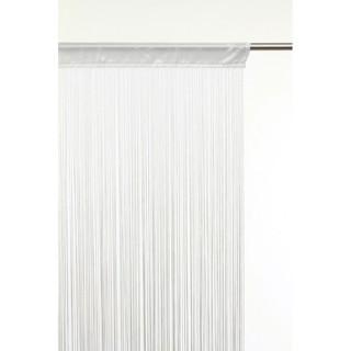 Lot 2x Rideau fils - 90 x 200 cm - Ivoire