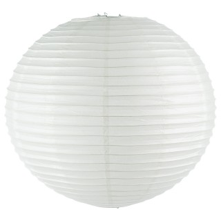 Lot 2x Lanterne Boule - Diam. 60 cm. - Blanc