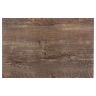 Lot 6x Set de table design bois Authentic - L. 30 x l. 45 cm - Chêne
