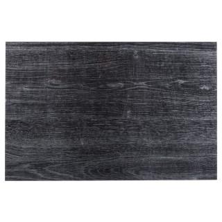 Lot 6x Set de table design bois Authentic - L. 30 x l. 45 cm - Eben