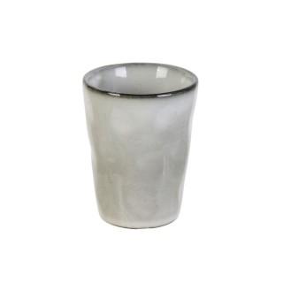 Lot 2x Tasses à expresso Au gré du temps - 100 ml - Gris