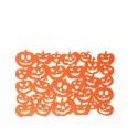 Lot 6x Décoration d'Halloween - Set de table citrouille - Orange