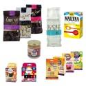 Kit pâtisserie : sucre glace, levures, colorants, chocolats, pralin