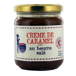 Crème de caramel au beurre salé - pot 220g