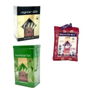 Thé noir ceylan et thé vert + 500g riz basmati Mahmood OFFERT