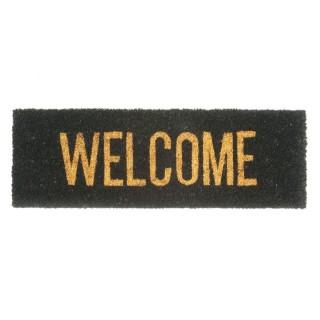Paillasson Welcome en fibre de coco - Doré