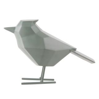 Statuette déco oiseau Origami - Vert