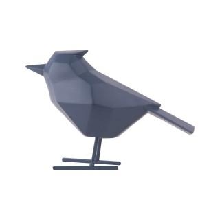 Statuette déco oiseau Origami - Bleu nuit