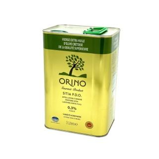 Huile d'olive extra vierge de Crète AOP - Orino - bidon 3 litres