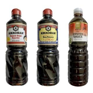 Trio sauces saveurs du monde